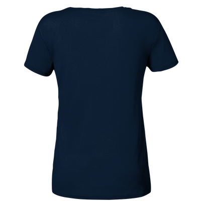 Eat. Sleep. Dive - Ladies Organic V-Neck Shirt