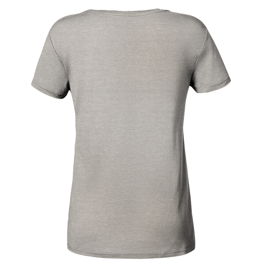 Discgolf - Ladies Organic V-Neck Shirt