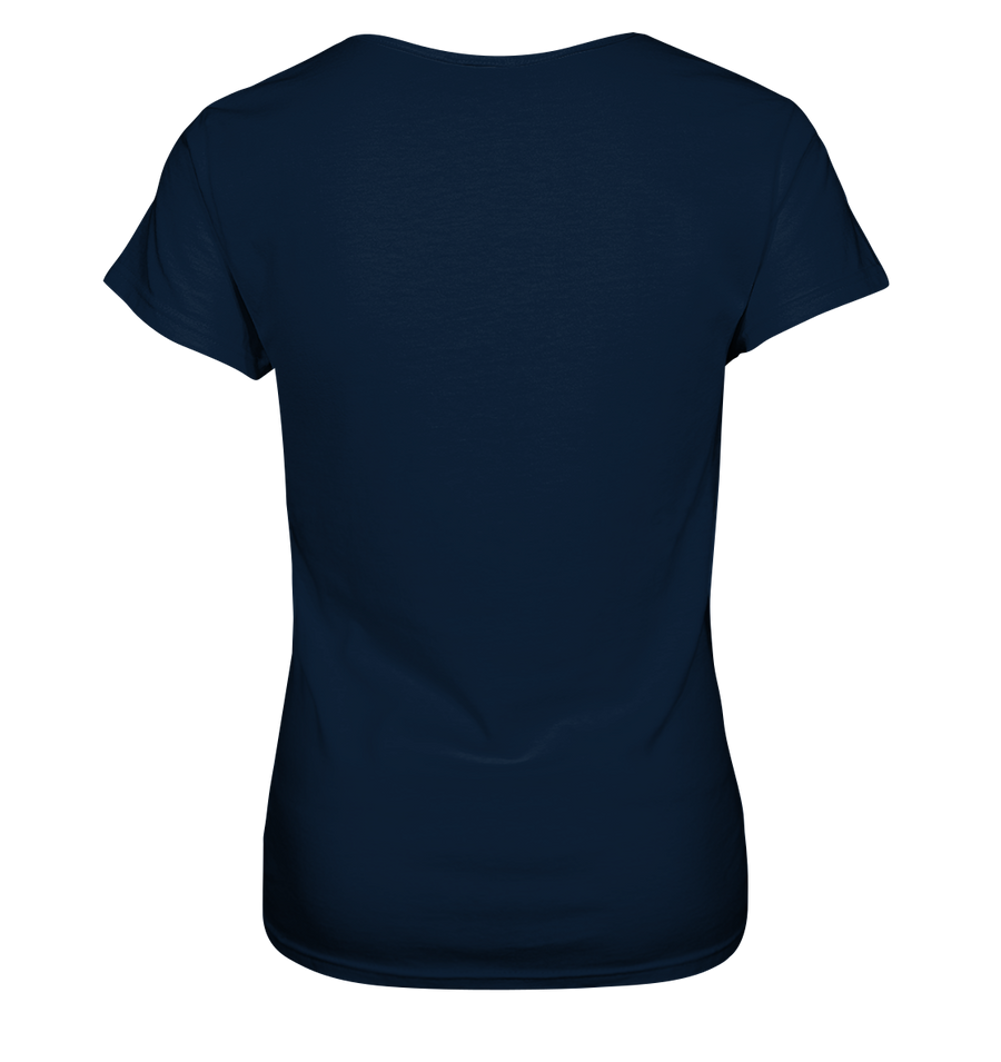 Eislaufen - Ladies V-Neck Shirt