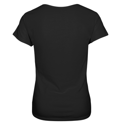 Herzschlag Mountainbike & Ski - Ladies V-Neck Shirt