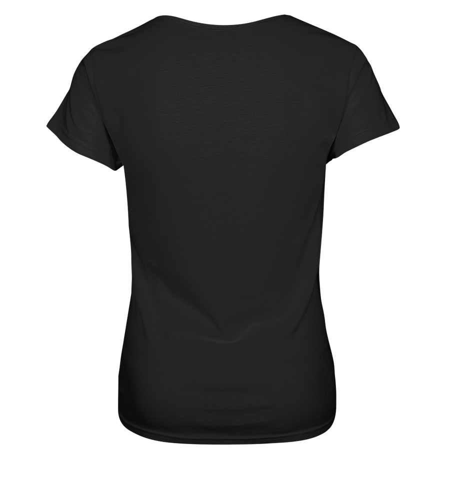 Herzschlag Mountainbike - Ladies V-Neck Shirt