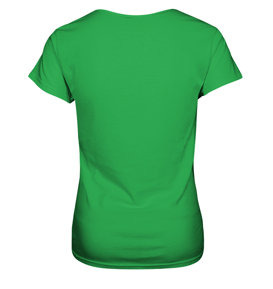 Vanlife & Kitesurfen - Ladies V-Neck Shirt