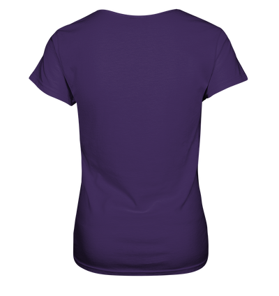 Herzschlag Berge Docproofed - Ladies V-Neck Shirt
