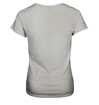 Ja, 500 km in 21 Stunden - Ladies V-Neck Shirt