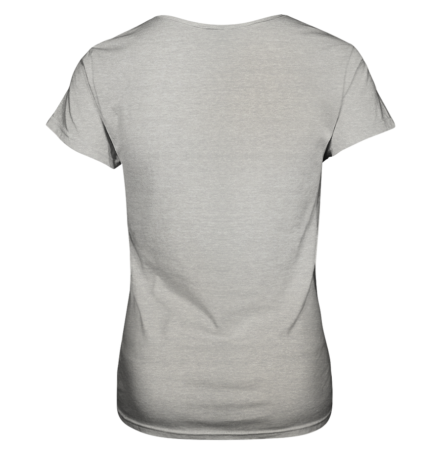 Ja, 300 km - Ladies V-Neck Shirt