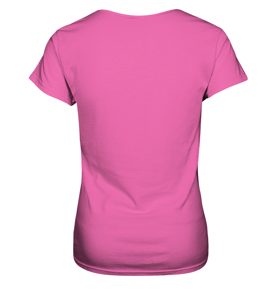 Let's Travel Together - Ladies V-Neck Shirt