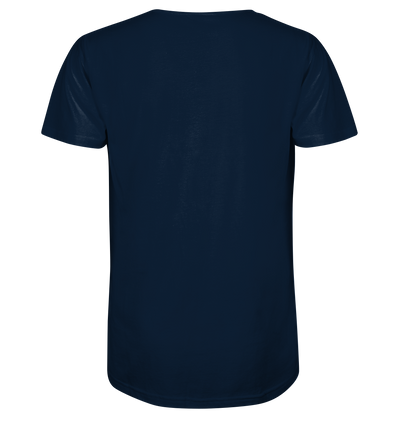 Wild & Free - Mens Organic V-Neck Shirt