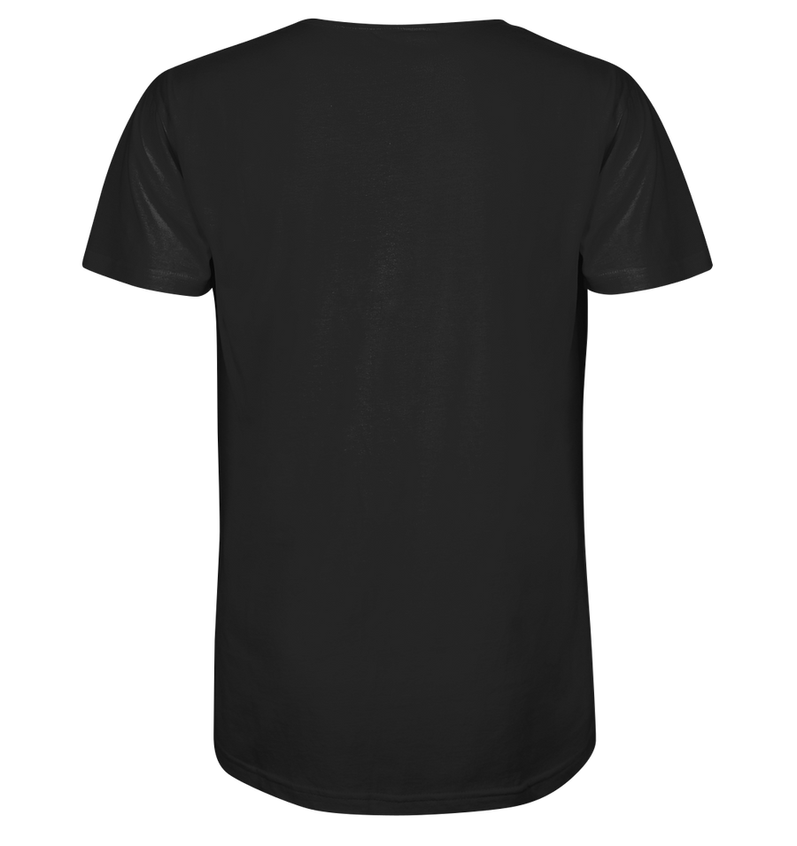 Keep it Simple - Mens Organic V-Neck Shirt