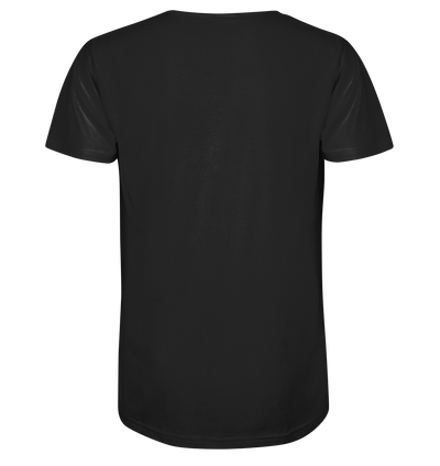 Bikeman - Mens Organic V-Neck Shirt