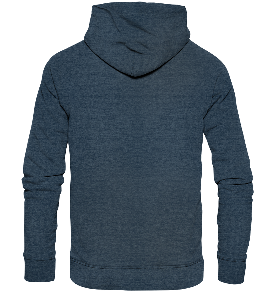 Just Smile - Organic Fashion Hoodie
