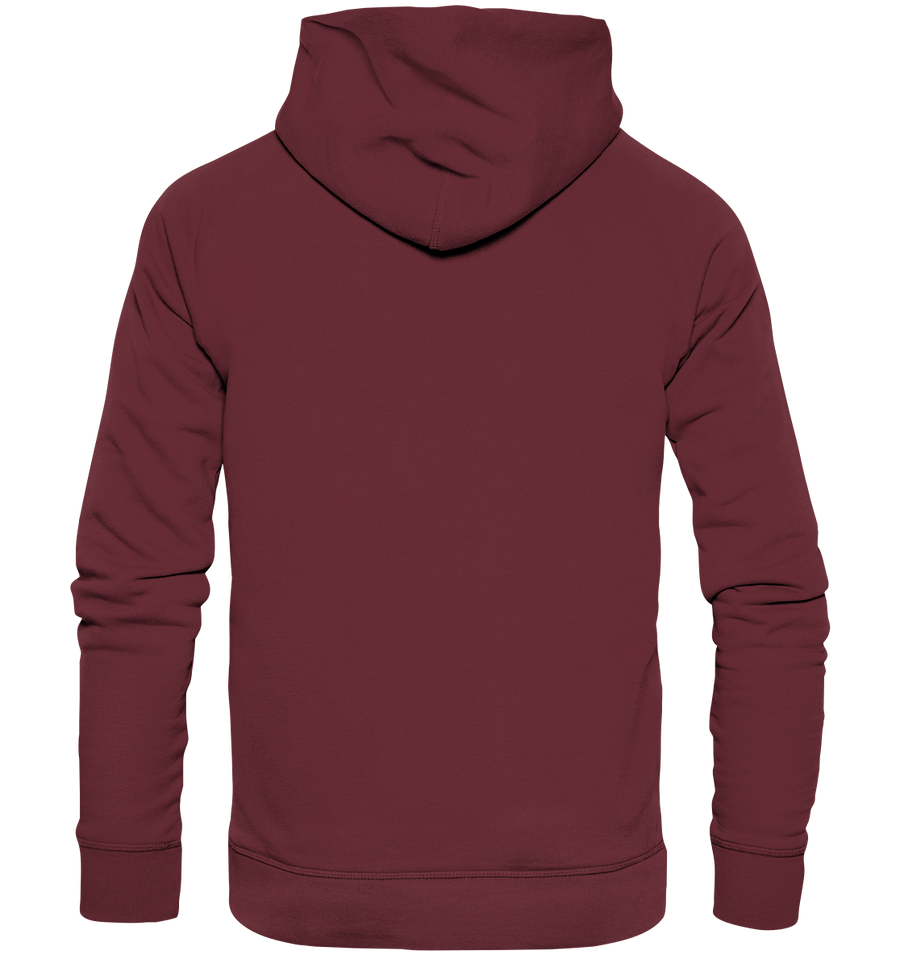 Herzschlag Stand Up Paddle - Organic Fashion Hoodie