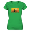 The Road has no End - Ladies V-Neck Shirt