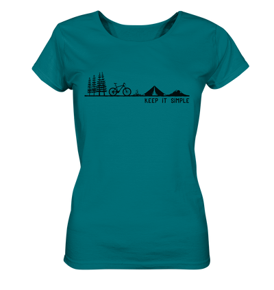 Keep it Simple - Mountainbike - Ladies Organic Shirt