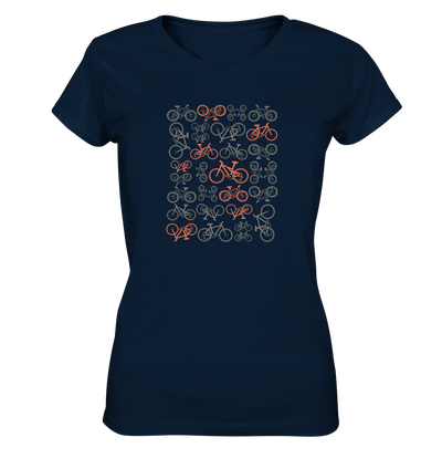 Mountainbikes - Ladies V-Neck Shirt