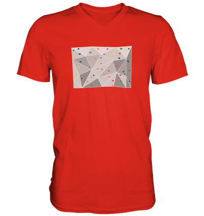 Bouldern - Mens V-Neck Shirt