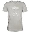 The River is Calling - Mens V-Neck Shirt