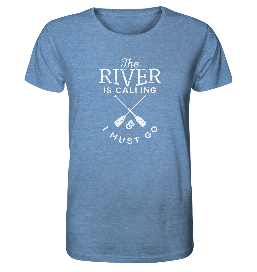 The River is Calling - Organic Shirt Meliert
