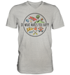 Do What Makes You Happy - Mens V-Neck Shirt