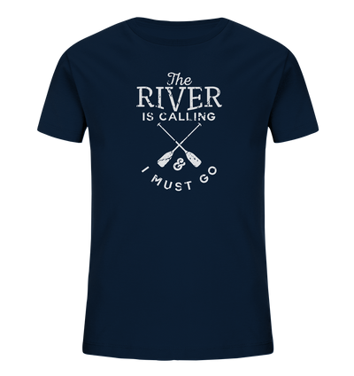 The River is Calling - Kids Organic Shirt