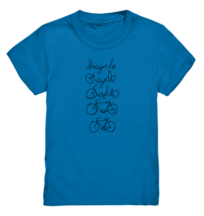 Bicycle - Kids Premium Shirt