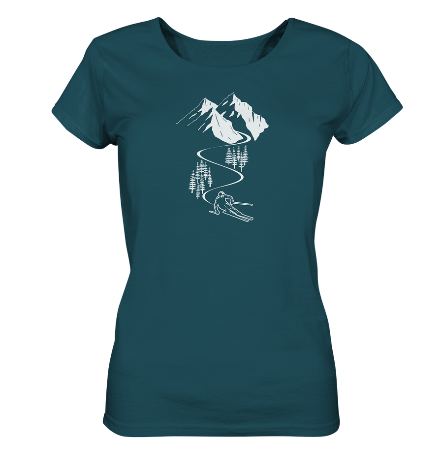 Skifahren - Ladies Organic Shirt - Sale