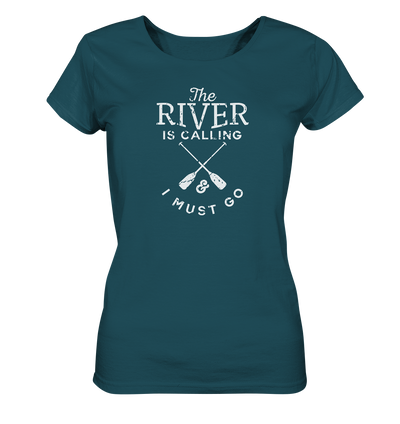 The River is Calling - Ladies Organic Shirt
