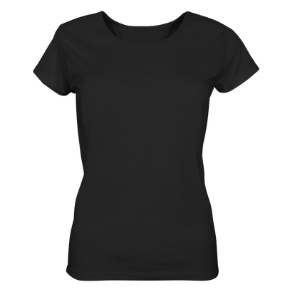 Focus On The Good Things In Life - Ladies Organic Shirt