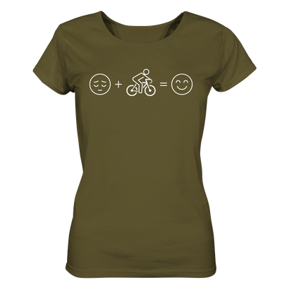 Just Smile - Ladies Organic Shirt