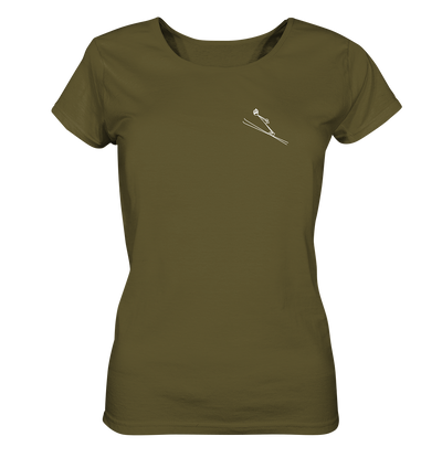 Skispringen - Ladies Organic Shirt