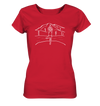 Yoga Aussicht - Ladies Organic Shirt