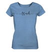 Eat. Sleep. Travel. Repeat. - Ladies Organic Shirt Meliert