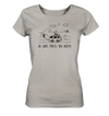 Do What Makes You Happy - Surfen - Ladies Organic Shirt Meliert