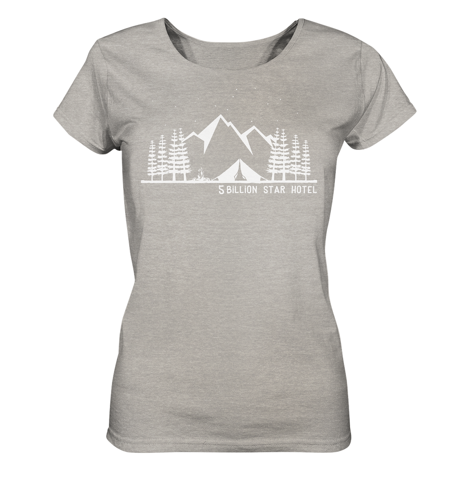 5 Billion Star Hotel - Ladies Organic Shirt Meliert