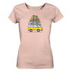 Vanlife & Surf - Ladies Organic Shirt Meliert