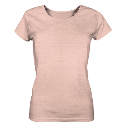 Yoga Aussicht - Ladies Organic Shirt Meliert