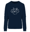 Ride More Worry Less - Ladies Organic Sweatshirt