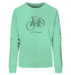 All I Need - Ladies Organic Sweatshirt