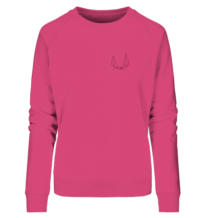 Chillen in der Hängematte - Ladies Organic Sweatshirt