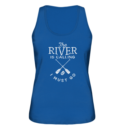 The River is Calling - Ladies Organic Tank Top