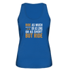 But Ride - Ladies Organic Tank Top