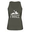 This is How I Roll - Ladies Organic Tank Top