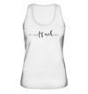 Eat. Sleep. Travel. Repeat. - Ladies Organic Tank Top