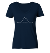 This Is My Way - Ladies Organic V-Neck Shirt