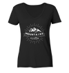 Mountains are Calling - Ladies Organic V-Neck Shirt