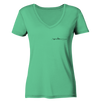 Rudern - Ladies Organic V-Neck Shirt