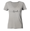 Eat. Sleep. Travel. Repeat. - Ladies Organic V-Neck Shirt