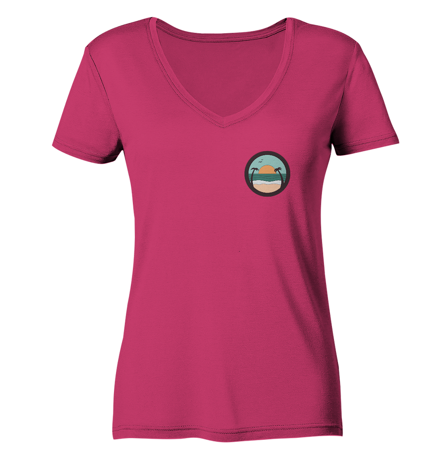 Strand - Ladies Organic V-Neck Shirt