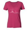 Do What Makes You Happy - Ladies Organic V-Neck Shirt