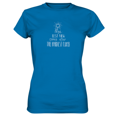 The Best View - Ladies Premium Shirt