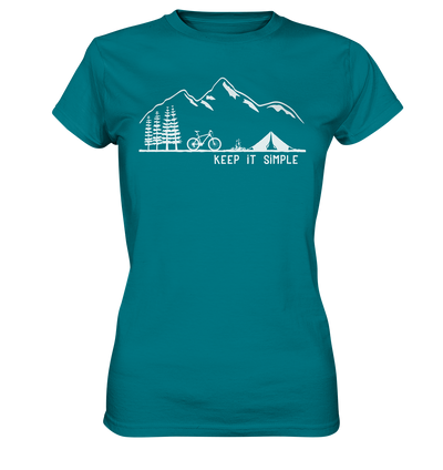 Keep it Simple - Mountainbike - Ladies Premium Shirt